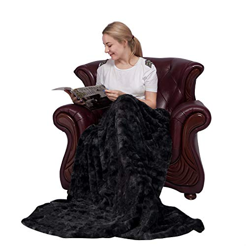 Ataya coperta in pelliccia sintetica coperta in morbida pelliccia calda e soffice