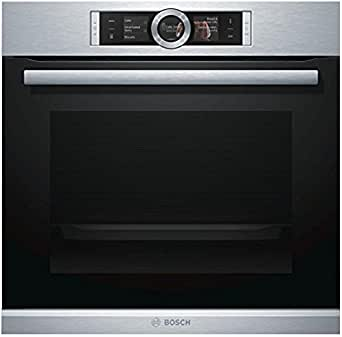 bosch hbg679s1f oven ovens medium integrated electric a black stainless steel sensor. Black Bedroom Furniture Sets. Home Design Ideas