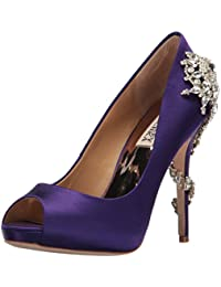 9ef39c3197ca Amazon.co.uk  Purple - Court Shoes   Women s Shoes  Shoes   Bags