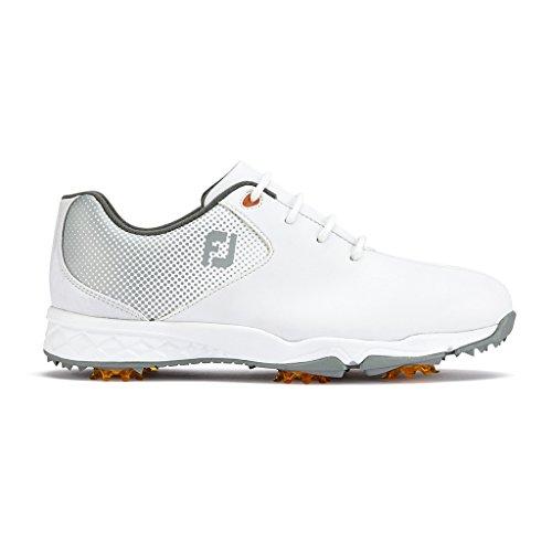 Footjoy Jungen Juniors Golfschuhe, Weiß (Blanco/Plata 45002), 38 EU