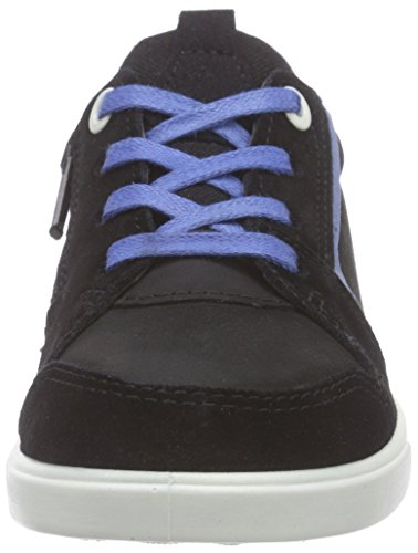 Ecco ECCO SHAY, Sneakers Basses garçon Noir - Schwarz (BLACK/BLACK53859)