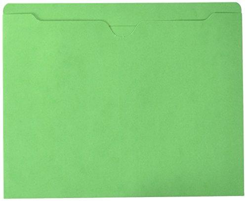 Sparco Produkte SPR26559 Datei Jacket-Letter-Gr--e 11 Pt-Reinforced Tabs-Flat-GN