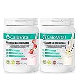 Zunehmen mit CaloVital | Zunehmshake hochdosiert mit vielen Vitaminen | Weight Gainer für schnelle...