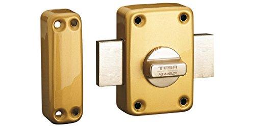 Tesa Assa Abloy, 2110TE4E, Cerrojo de seguridad con llave exterior y b