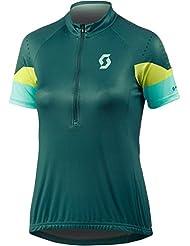 Scott Endurance 30 Damen Fahrrad Trikot kurz grün 2017