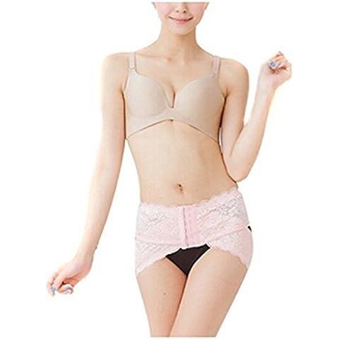 Butterme Lace regolabile Medical bacino di correzione del corpo della cinghia della vita di figura del bacino post-partum recupero di rimozione del ventre Hip Shaper riduttore di gravidanza che dimagrisce cinghia per le donne di maternità