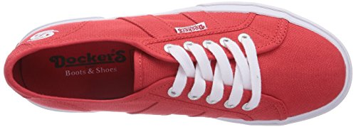 Dockers by Gerli  36MD201, Sneakers basses femme Rouge - Rot (rot 700)