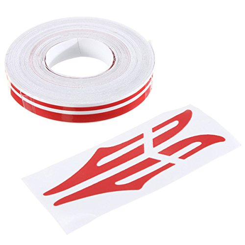 Alamor 1 / 2Inch Pin Striping Stripe Vinyl Tape Calcomanías Pegatinas 12Mm...