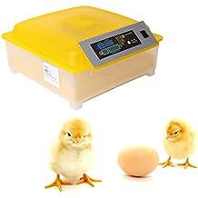 Ridgeyard 48 uova incubatrice digitale chiaro Hatcher temperatura controllo GIRAUOVA automatico