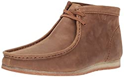 Clarks Wallabee Step Chukka Boot Tan Leather 8 D(M) US