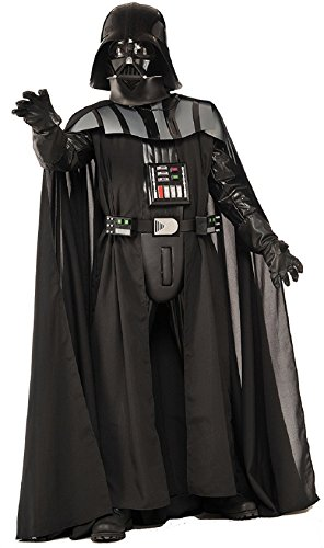 Supreme Vader Darth Kostüm - Rubie's 3909877 - Supreme Edition Darth Vader Adult, STD, schwarz