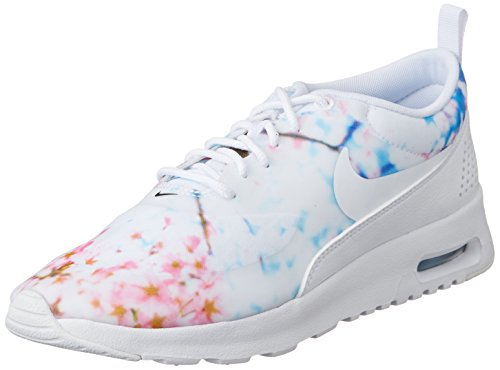 Nike Nike Nike Wmns Air Max Thea Print  Chaussures De Sport Femme  Blanc Blanc d21de9