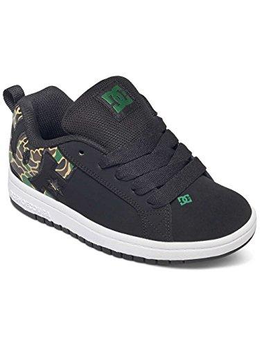 DC Shoes Court Graffik SE - Chaussures basses pour enfant 301131A Noir - Black/Camo