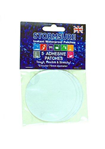 Stormsure 5 wasserdichte, transparente Reparatur Aufkleber für Flexible Materialien