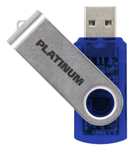 Platinum TWS 8 GB USB-Stick USB 3.0 blau