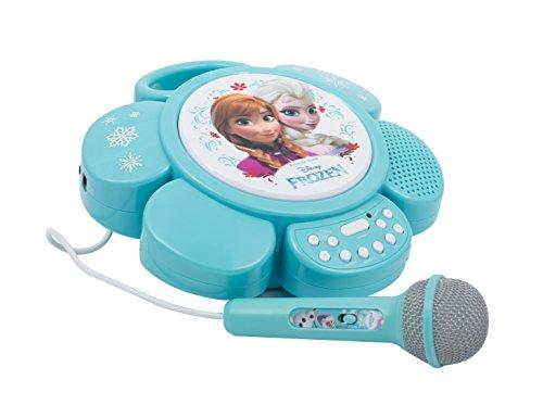 Karaoke Linea Gig Canta tu portatile Frozen CTF01000 (Gefroren Karaoke-mikrofon Disney)
