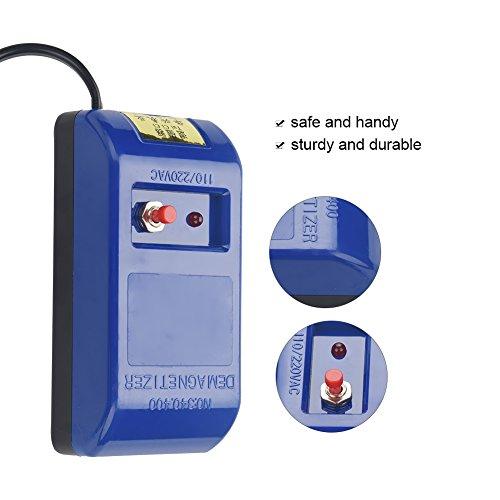 TMISHION Demagnetizer Berufsreparatur Entmagnetisierendes Werkzeug Mechanischer Quarz Uhr Entmagnetisierer 250V