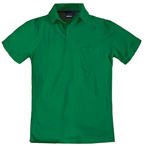North 56°4 by Allsize Poloshirt grün Übergröße Grün