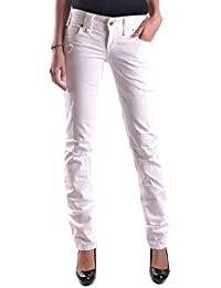 John Galliano Galliano Damen MCBI130037O Weiss Denim Jeans