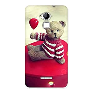 Cute Heart Teddy Back Case Cover for Coolpad Note 3
