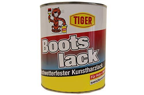 Kunstharzlack Tiger Bootslack weiss 131 seidenmatt 1kg