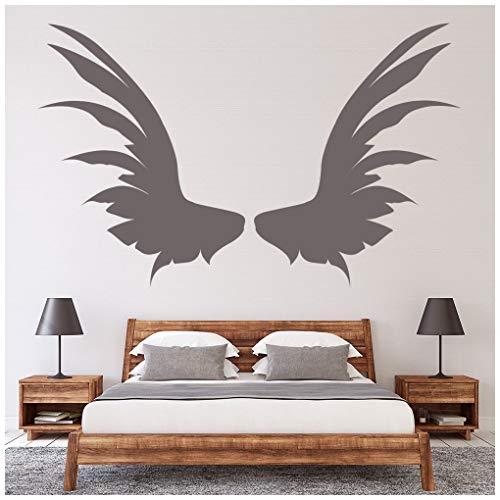 azutura Engelsflügel Wandtattoo Engels Flügel Wand Sticker Schlafzimmer Haus Dekor verfügbar in 5 Größen und 25 Farben X-Groß Minze