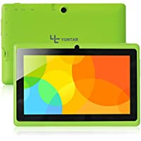 Yuntab Q88 A33 - Tablet de 7 (WiFi, Allwinner AYuntab Q88 Tablet de 7 (WiFi, Quad-Core, Android 4.4.