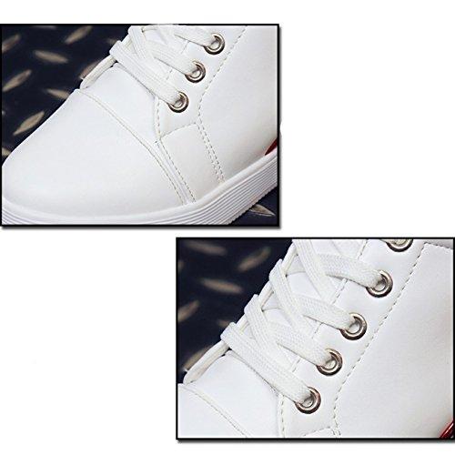 XTIAN , chaussures compensées femme Bleu