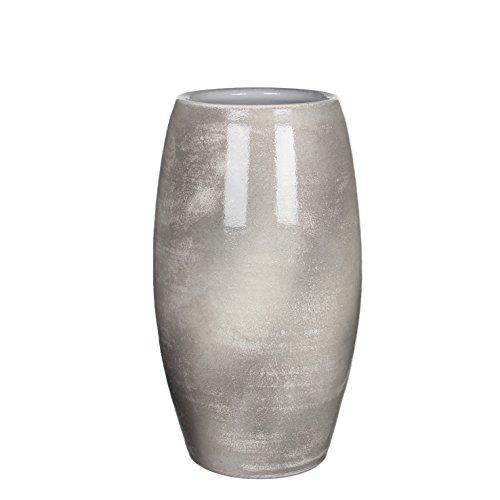 Mica decorations 1002874 Vase Lester, grau