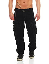 Geographical Norway Herren Cargo Hose Cargopants Herrenhose Baggy mit Taschen G 305
