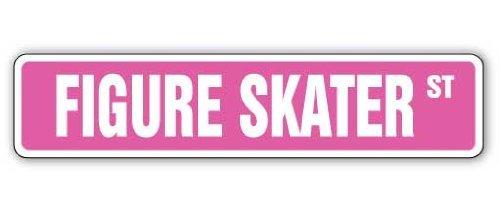 Sinluen Zitat Aluminium Schild Skater Street Schild Eislaufschuhe Kleider Outfit Metall Geschenk Schild Wandschild Dekoration