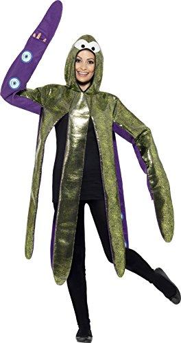 Smiffy's 43391 - Octopus Kostüm Schaum Bonded mit Kapuze Tabard