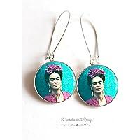 Frida Kahlo, Messico, chic bohemien, zingara, multicolore, finitura argento