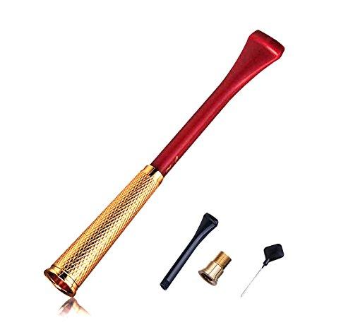 CaLeQi Lady Saubere Art Multi-Filterung Zigaretten-Rauch-Filter Reinigen Wiederverwendbare Tabak Zigaretten-Tar-Asche Filterhalter für Männer zu 0,8 mm und Frau 0,6 mm Base Verwendet.