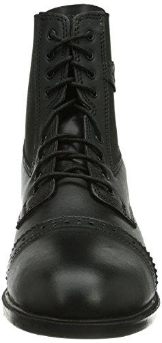 Kerbl  Schnürstiefelette Monaco Glattleder, Schwarz Gr. 41, Chaussures d'Equitation adulte mixte noir - Noir