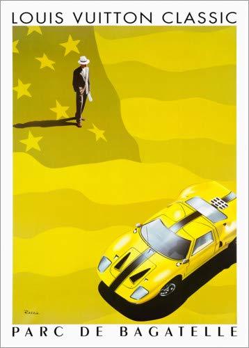 Poster 60 x 80 cm: Louis Vuitton - Parc de Bagatelle von Advertising Collection - hochwertiger Kunstdruck, neues Kunstposter