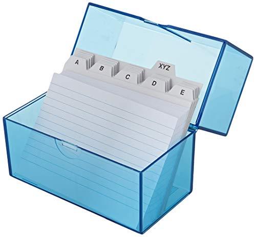 Wedo 2506303 Cajas tarjetas DIN A6 transversal aproximadamente