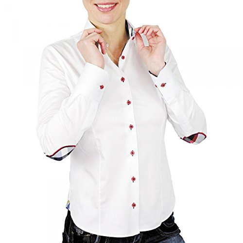 chemise a coudiere brittany blanc Blanc