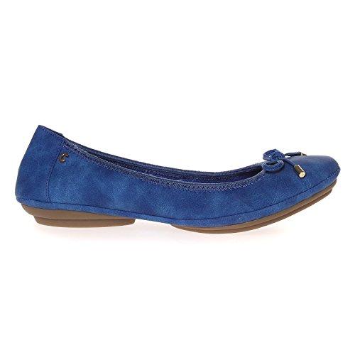 CHATTAWAK Damen Ambre Ballerinas Bleu (Bleu)