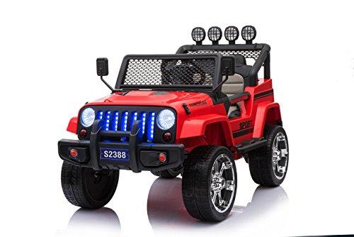 Toyas COBRA Off Road SUV Jeep Kinderauto Kinderfahrzeug Elektrofahrzeu Geländewagen 4 x 45 W Motor S2388r