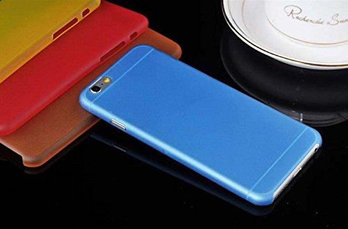 iPhone 6Hülle ultra dünn transparent Hard Silikon-Gel Cover 5Farben–Kompatibel mit der 4,7 Hot Pink