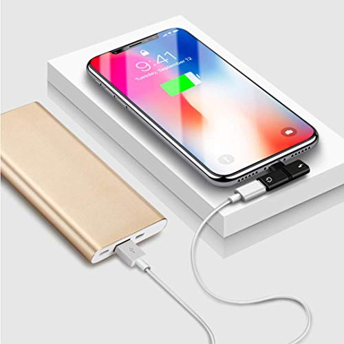 [Get Discount ] Shopfic 2 in 1 Splitter 8 Pin to Dual 8 Pin Phone Charger Converter Compatible for iPhone 7 8 Plus X Charging Cable Adapter Mini Earphone Converter 418LT5PXiSL