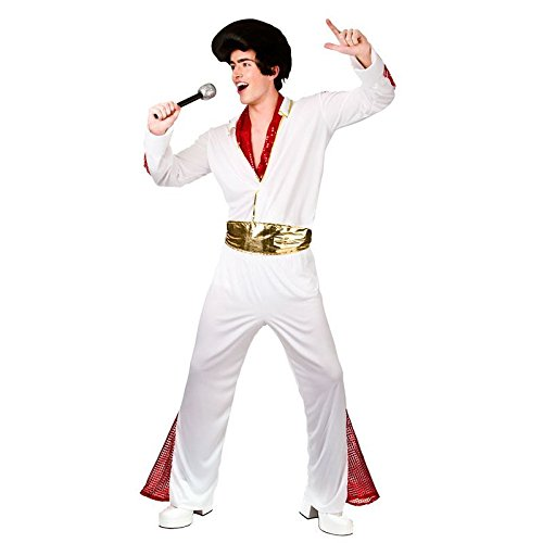 King of Rock n Roll - Adult Costume Man: L (Chest: ()