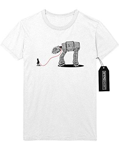T-Shirt AT-AT For Walk Star Wars C140007 Weiß (Star E Wars Walk)