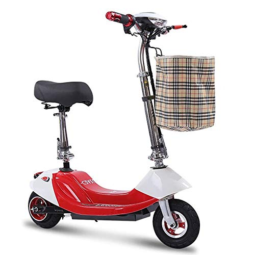 NBWE Falten Elektroauto Erwachsene Elektroroller Damen Elektro-Fahrrad Mini Walking Ultra Light Kleine Batterie Auto Balance Auto Student Auto Suspension