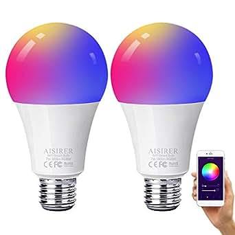ampoule led intelligente aisirer wifi connect e ampoule. Black Bedroom Furniture Sets. Home Design Ideas