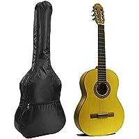 MYNC–ajustable correa negro 38pulgadas guitarra estudiante principiante protectora impermeable para guitarra acústica y clásica bolso bandolera funda de transporte