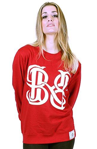 BKB -  Felpa  - Donna Chilli Red Large