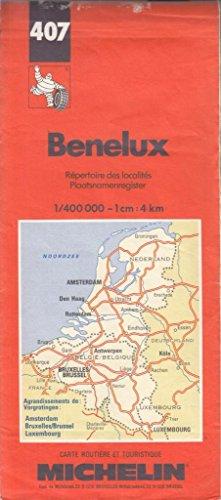 Benelux. Carte numéro 407