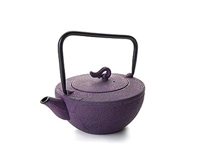 IBILI 622104 Tokyo Théière Fer Fondue Violet 450 ML 15 x 12 x 13 cm